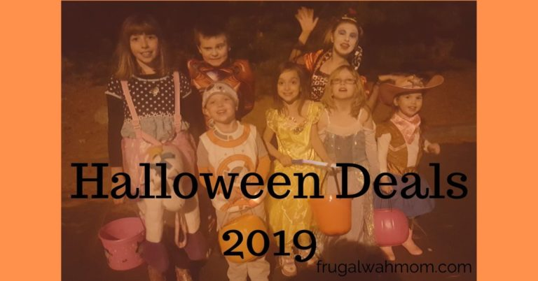 Halloween Deals 2019
