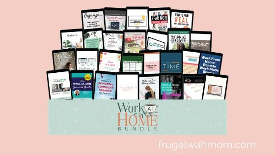 Work at Home Bundle from Ultimate Bundles