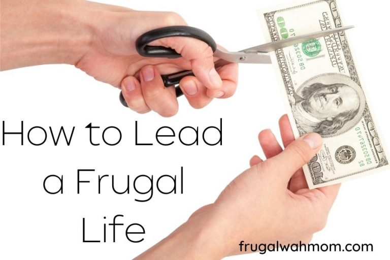 How to Lead a Frugal Life and Save by Cutting Down Expenses